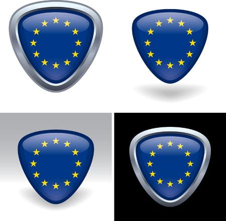 유럽의: European Union Flag Crest