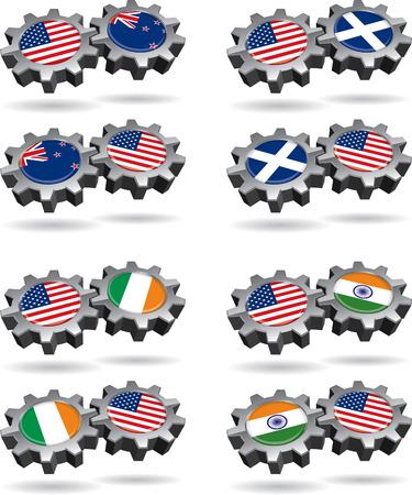 America Works With New Zealand, Scotland, Ireland, and India