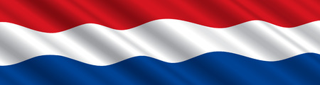 Dutch  Flag in the Wind