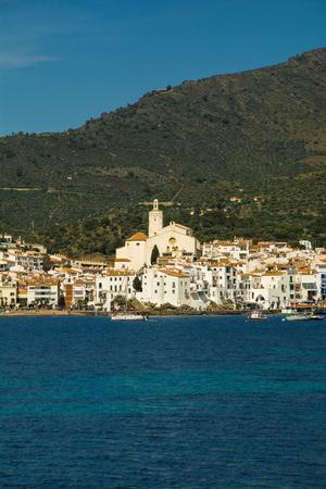 Cadaqués village by the mediterranean sea, Costa Brava, Catalonia, Spain