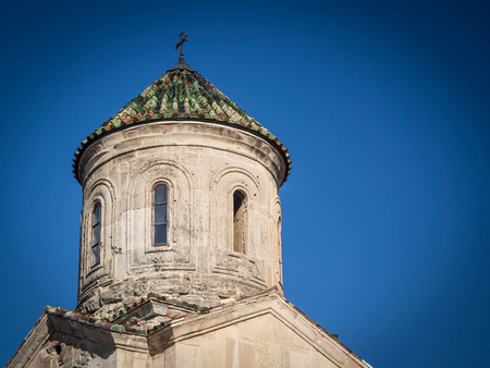 gelati: Gelati, a monastic complex close to Kutaisi, Imereti region, Georgia  Gelati is a UNESCO heritage site  Stock Photo
