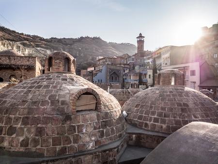 Sulphur baths in Tbilisi, Georgia