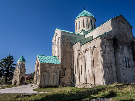 11th century:  Bagrati cathedral from the 11th century in Kutaisi, Imereti region, Georgia