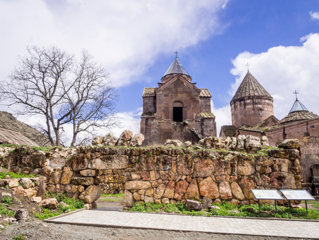 gosh: Goshavank Monastery Complex located in the village of Gosh in the Tavush Province in northern Armenia