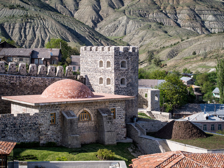 recently: The old town  Rabati Castle  in Akhaltsikhe in southern Georgia  The castle was built in the 12th century and it was recently renovated
