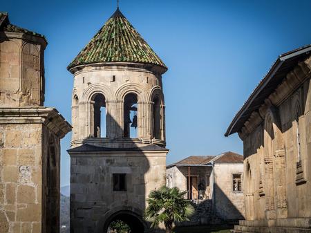 monastic: Gelati, a monastic complex close to Kutaisi, Imereti region, Georgia  Gelati is a UNESCO heritage site  Stock Photo