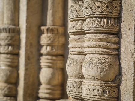 monastic sites: Decorations of the Gelati monastery near Kutaisi, Georgia  Gelati is a Unesco heritage site since 1994  Stock Photo