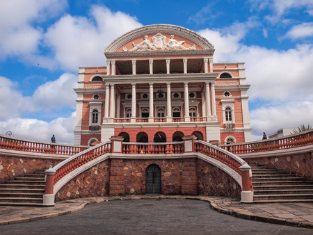 Teatro Amazonas in Manaus, Brazil  Stock Photo - 26278018