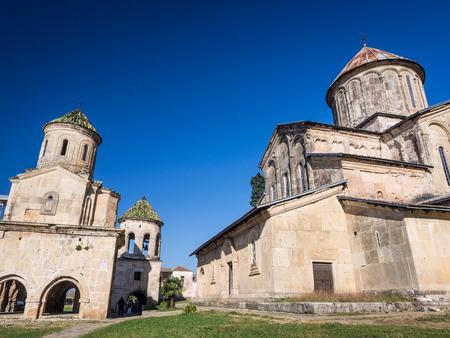 monastic sites: Gelati, a monastic complex close to Kutaisi, Imereti region, Georgia  Gelati is a UNESCO heritage site  Editorial