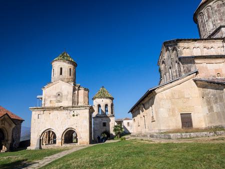 gelati: Gelati, a monastic complex close to Kutaisi, Imereti region, Georgia  Gelati is a UNESCO heritage site  Editorial