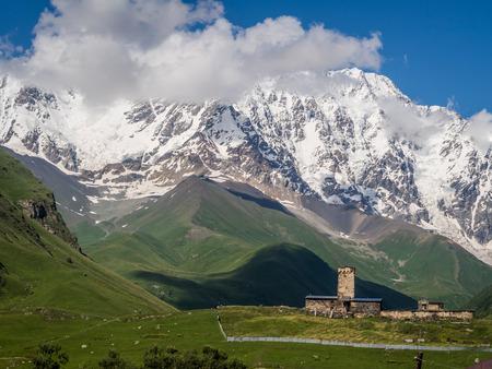 ushguli: Ushguli in Upper Svaneti, Georgia