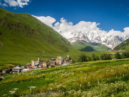 svaneti: Ushguli in Upper Svaneti, Georgia