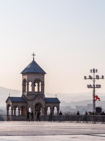 tbilisi: La Cattedrale della Trinit� di Tbilisi