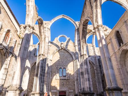 Convent of Our Lady of Mount Carmel (Portuguese: Convento da Ordem do Carmo) in Lisbon, Portugal
