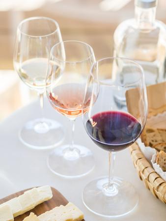 Wine tasting in Alentejo region, Portugal.