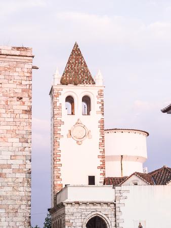 Tower of the Nosso Senhor dos Inocentes chapel in Estremoz, Portugal.