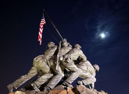 Iwo Jima Memorial Washington DC Editorial