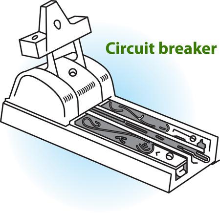 breaker: illustration of Circuit Breaker Illustration
