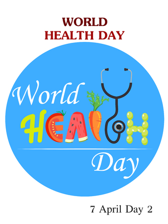 Vector Illustration of World Health Day