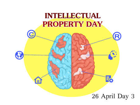 Vector Illustration of World Intellectual Property Day