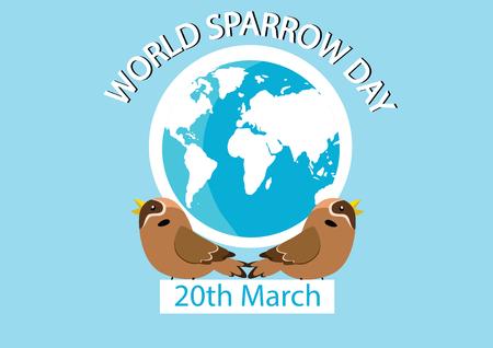 Mar_20_World Sparrow Day-2 Illustration