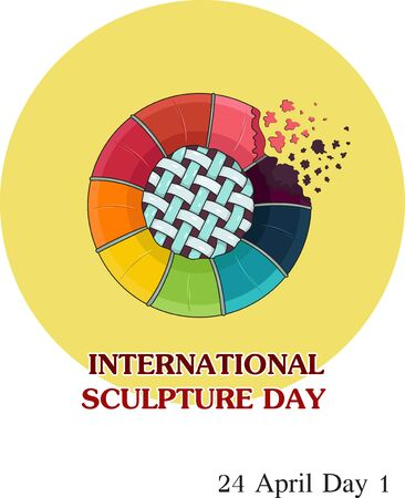 INTERNATIONAL SCULPTURE DAY ART GRAPHIC
