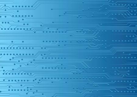 circuitos electronicos: Fondo industrial con fragmento de placa de circuito
