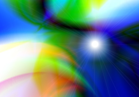astral: Abstract space background
