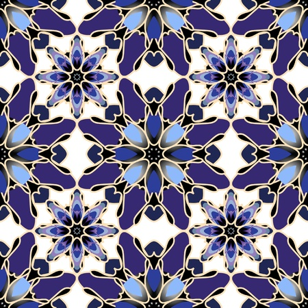 kaleidoscope: Seamless pattern