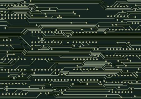 circuitos electronicos: Seamless industrial con placa de circuito