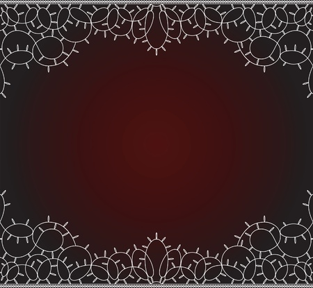 Seamless lace background. Space for your text  Vector