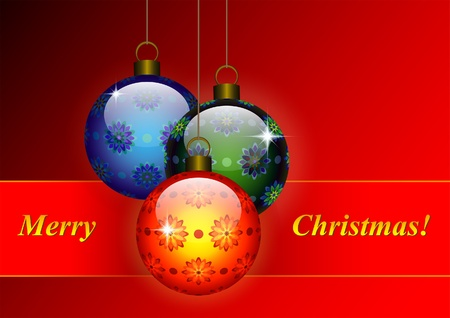 Christmas decorative background Stock Vector - 11101427