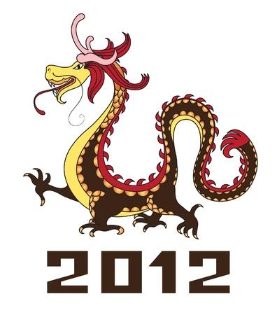 eastern zodiac: Chinese dragon