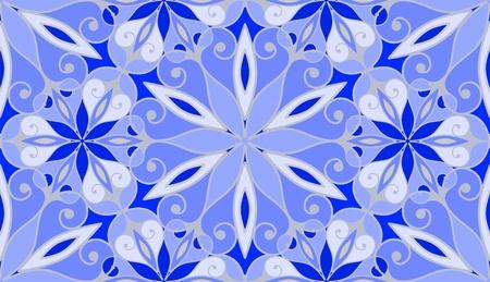frozen glass: Frosty window glass, seamless pattern