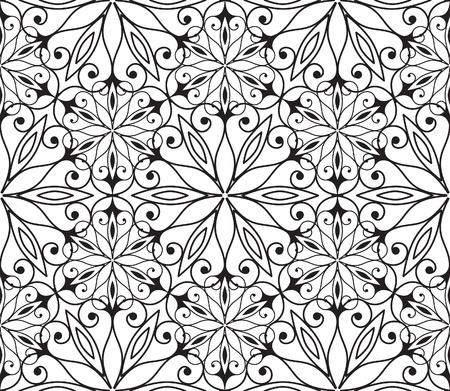 hexagonal: Seamless hexagonal pattern in arabian style