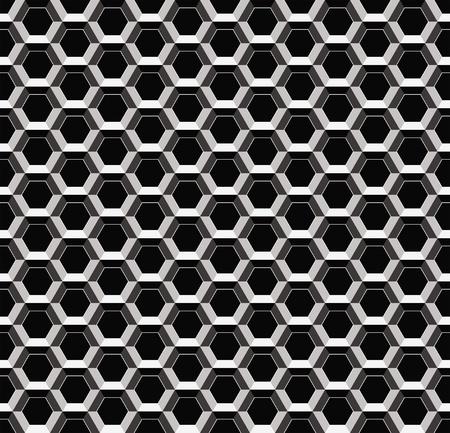 Resumen patrón de metal, sin fisuras tejido celular