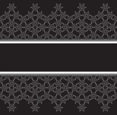 ornate swirls: Seamless lace stripe background
