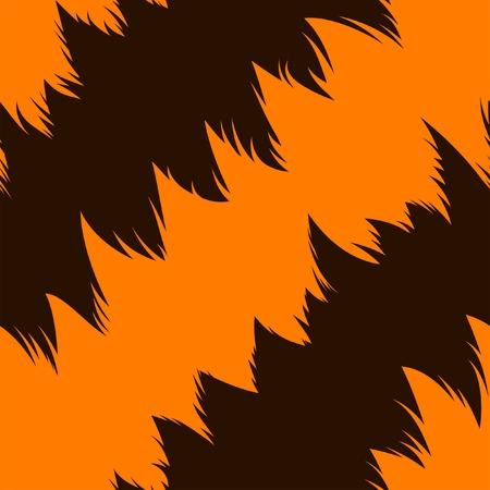 stripe striped: Tiger stripe skin, abstract seamless pattern