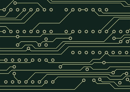 technological: Circuit board technological hardware background