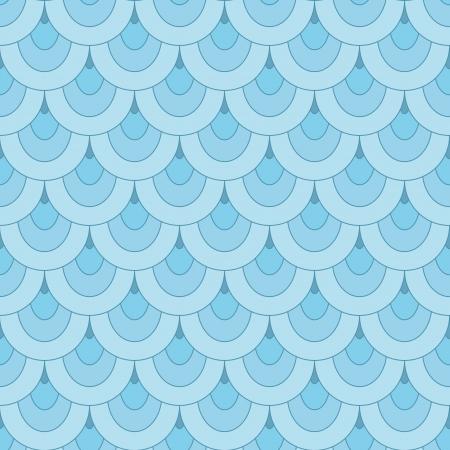 escamas de peces: Escala de los azules, sin patrón abstracto