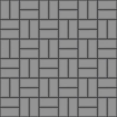 Pavement textuur, naadloze betegeld patroon Vector Illustratie