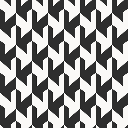 black pattern: Monochrome background, abstract seamless pattern Illustration