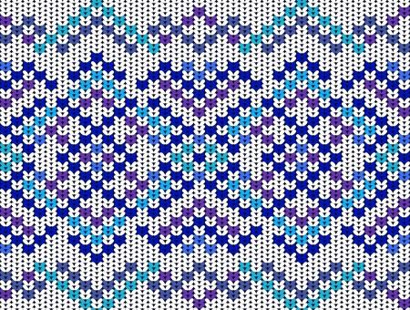 woolen fabric: Patr�n de punto, azul textura perfecta