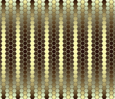 Abstract striped yellow seamless pattern Stock Vector - 15808069
