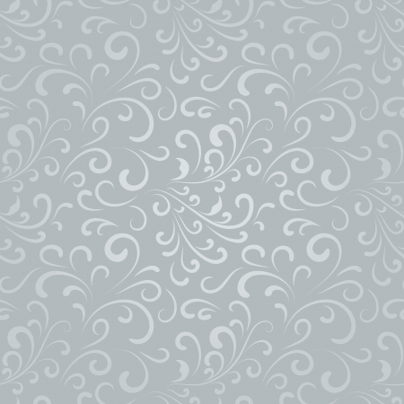 arabesque: Abstract floral background, seamless pattern Illustration