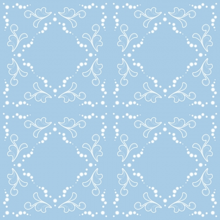 frosted window: Abstract seamless winter pattern