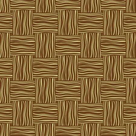 Geweven mat textuur, naadloze patroon Vector Illustratie