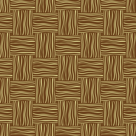 bast: Woven mat texture, seamless pattern