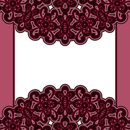 Velvet ornamental decorative background Stock Vector - 16067960