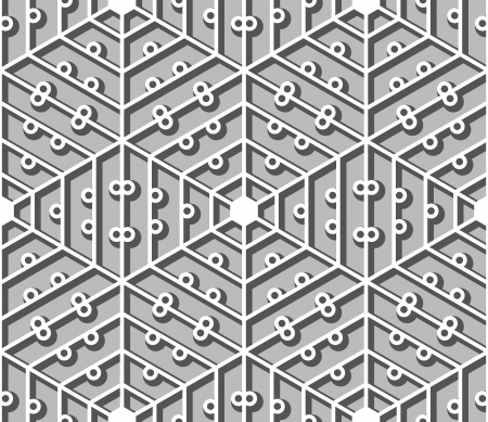lattice: Hexagonal lacy lattice, seamless pattern